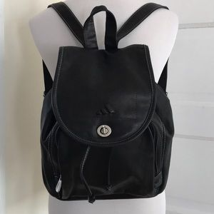 Adidas Leather Backpack